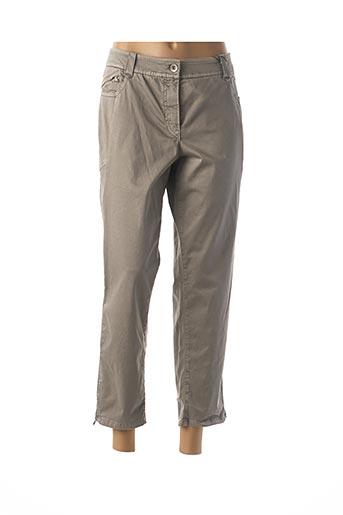 Pantalon 7/8 vert ATELIER GARDEUR pour femme