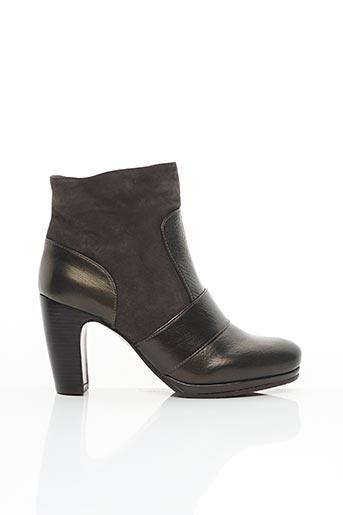 Bottines/Boots gris CHIE MIHARA pour femme