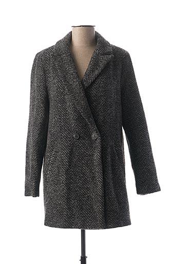 Manteau long gris ESCANDELLE pour femme