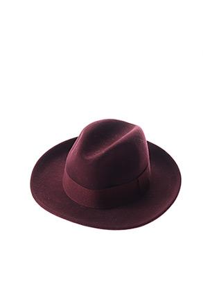 Chapeau rouge CRUSHABLE pour femme