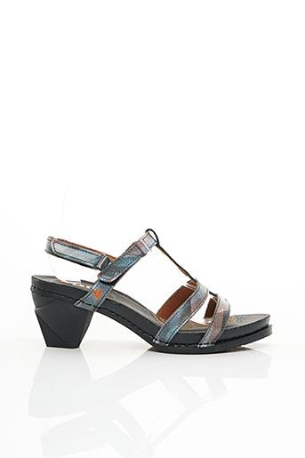 Sandales/Nu pieds bleu ART pour femme