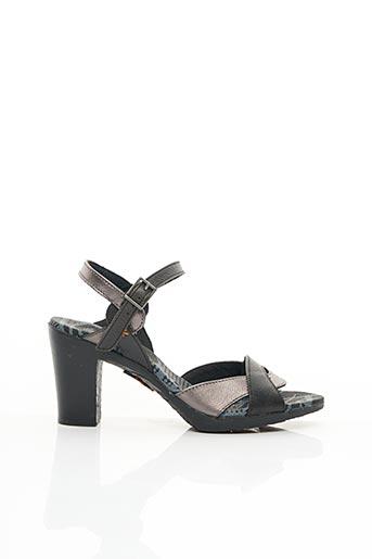 Sandales/Nu pieds noir ART pour femme