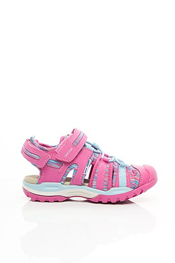 Sandales/Nu pieds rose GEOX pour fille