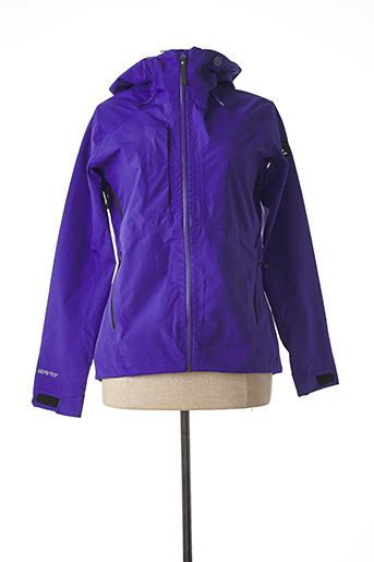 Coupe-vent violet EIDER pour femme
