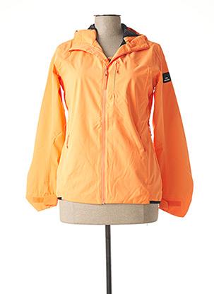 Coupe-vent orange EIDER pour femme