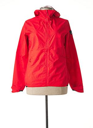 Coupe-vent rouge EIDER pour femme