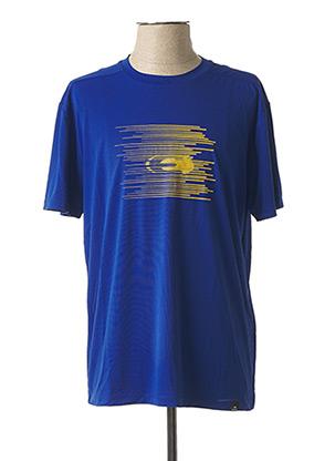 T-shirt manches courtes bleu EIDER pour homme