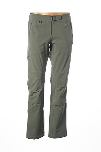 Pantalon casual vert EIDER pour femme
