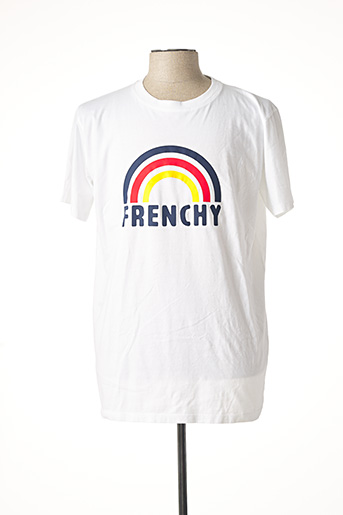 T-shirt manches courtes blanc FRENCH DISORDER pour homme
