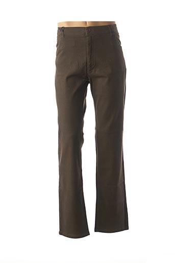 Pantalon casual marron EASY MAXFORT pour homme