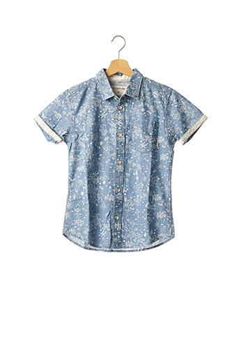 Chemise manches courtes bleu QUICKSILVER pour garçon