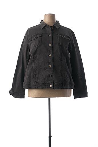 Veste en jean noir NANA BELLE pour femme