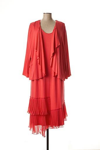 Veste/robe rose CHALOU pour femme