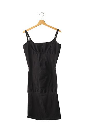 Jupon /Fond de robe noir CETTE pour femme