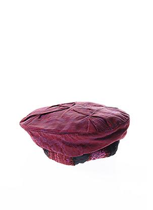 Bonnet violet GANTEB'S pour femme