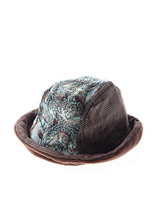 Chapeau bleu GANTEB'S pour femme