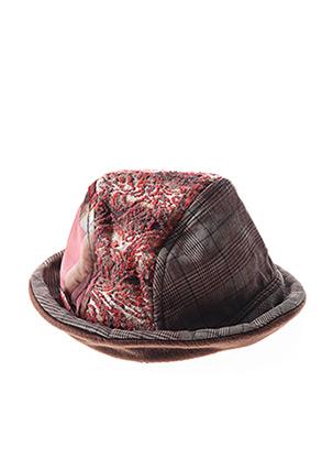 Chapeau rouge GANTEB'S pour femme