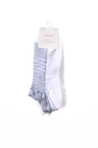 Chaussettes blanc ESPRIT pour homme