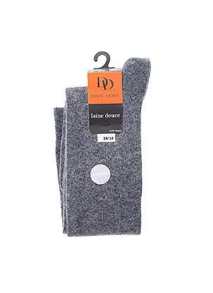 Chaussettes gris DORE DORE pour femme
