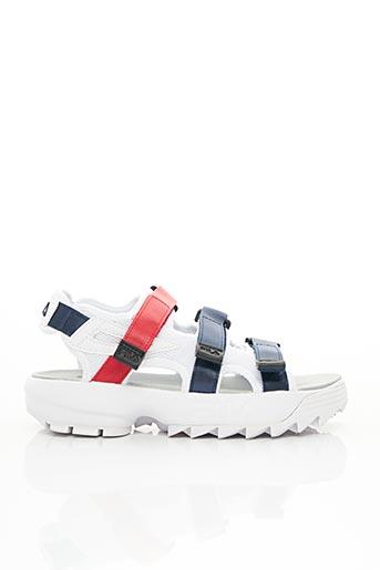 Sandales/Nu pieds blanc FILA pour femme