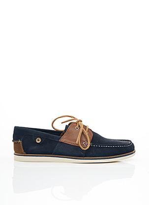 Chaussures bâteau bleu FAGUO pour homme