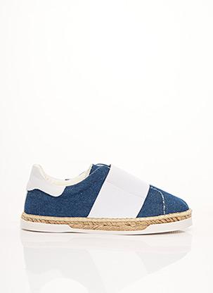 Espadrilles bleu CANAL ST MARTIN pour femme