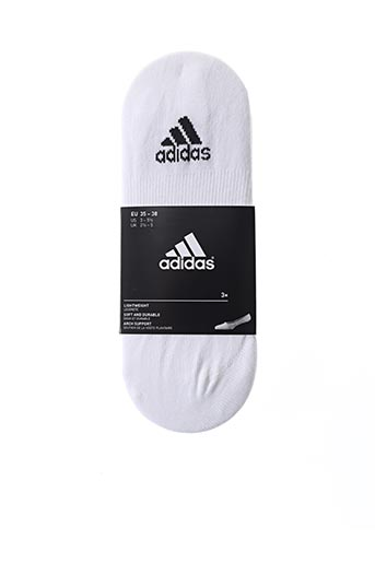 Chaussettes blanc ADIDAS pour unisexe