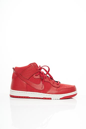 Baskets rouge NIKE pour homme
