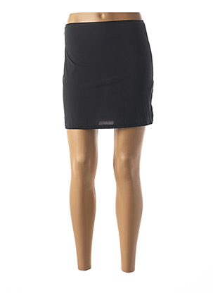 Jupon /Fond de robe noir JANIRA pour femme