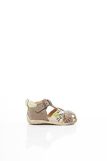 Sandales/Nu pieds beige BABYBOTTE pour garçon