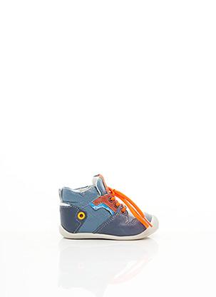 Baskets bleu BABYBOTTE pour garçon