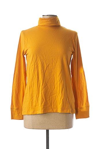 Sous-pull jaune MD'M pour femme