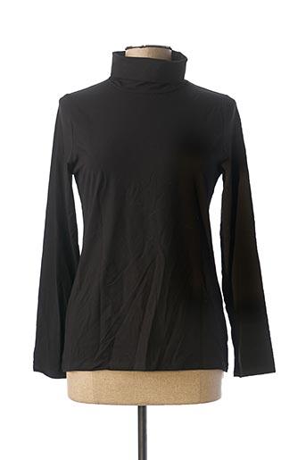 Sous-pull noir MALOKA pour femme