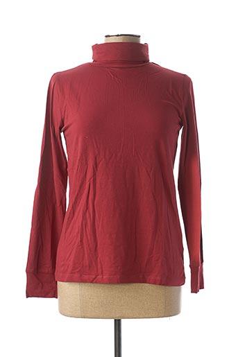Sous-pull rouge MD'M pour femme