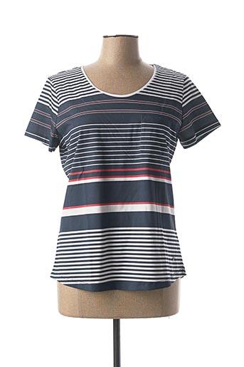 T-shirt manches courtes bleu KATMAI pour femme