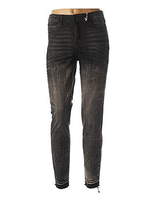 Pantalon 7/8 noir GUESS pour femme