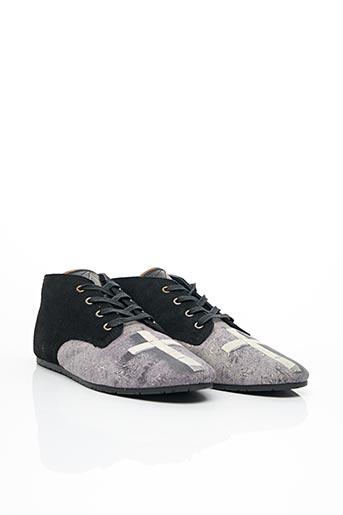 Bottines/Boots noir ELEVEN PARIS pour homme