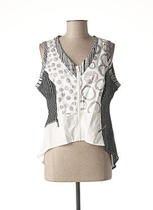 Veste casual blanc ENJOY pour femme
