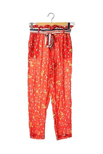 Pantalon casual rouge ATELIER JAD pour femme