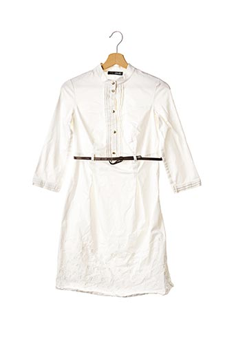 Robe mi-longue blanc LIU JO pour femme