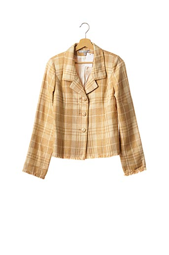 Veste chic / Blazer beige ALAIN FIGARET pour femme