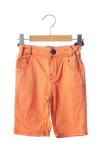 Short orange CATIMINI pour garçon