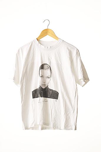 T-shirt manches courtes blanc ANINE BING pour femme