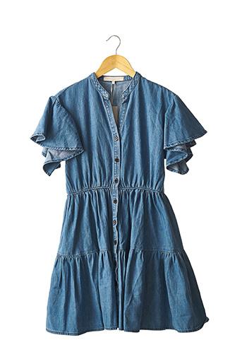 Robe mi-longue bleu VANESSA BRUNO pour femme
