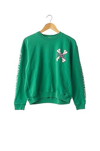 Sweat-shirt vert ESSENTIEL ANTWERP pour femme