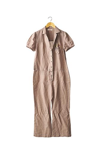 Combi-pantalon marron CHLOE pour femme