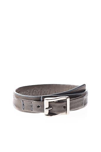 Bracelet gris MARITHE & FRANCOIS GIRBAUD pour femme