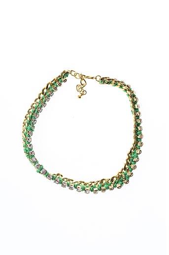 Collier vert ESSENTIEL ANTWERP pour femme