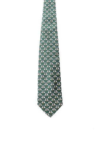 Cravate vert BALMAIN pour homme