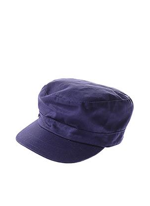 Casquette bleu AGNES B pour femme